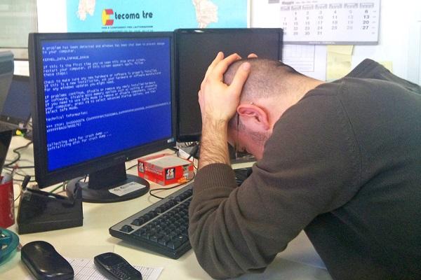 """Новые обновления Windows вызовут """"синий экран смерти"""""""