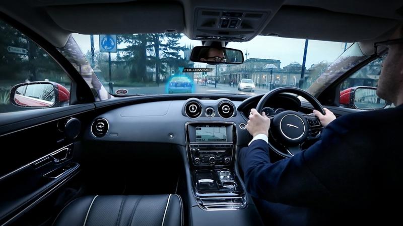 360 Virtual Urban Windscreen от Jaguar Land Rover